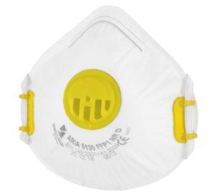 Protective half-mask